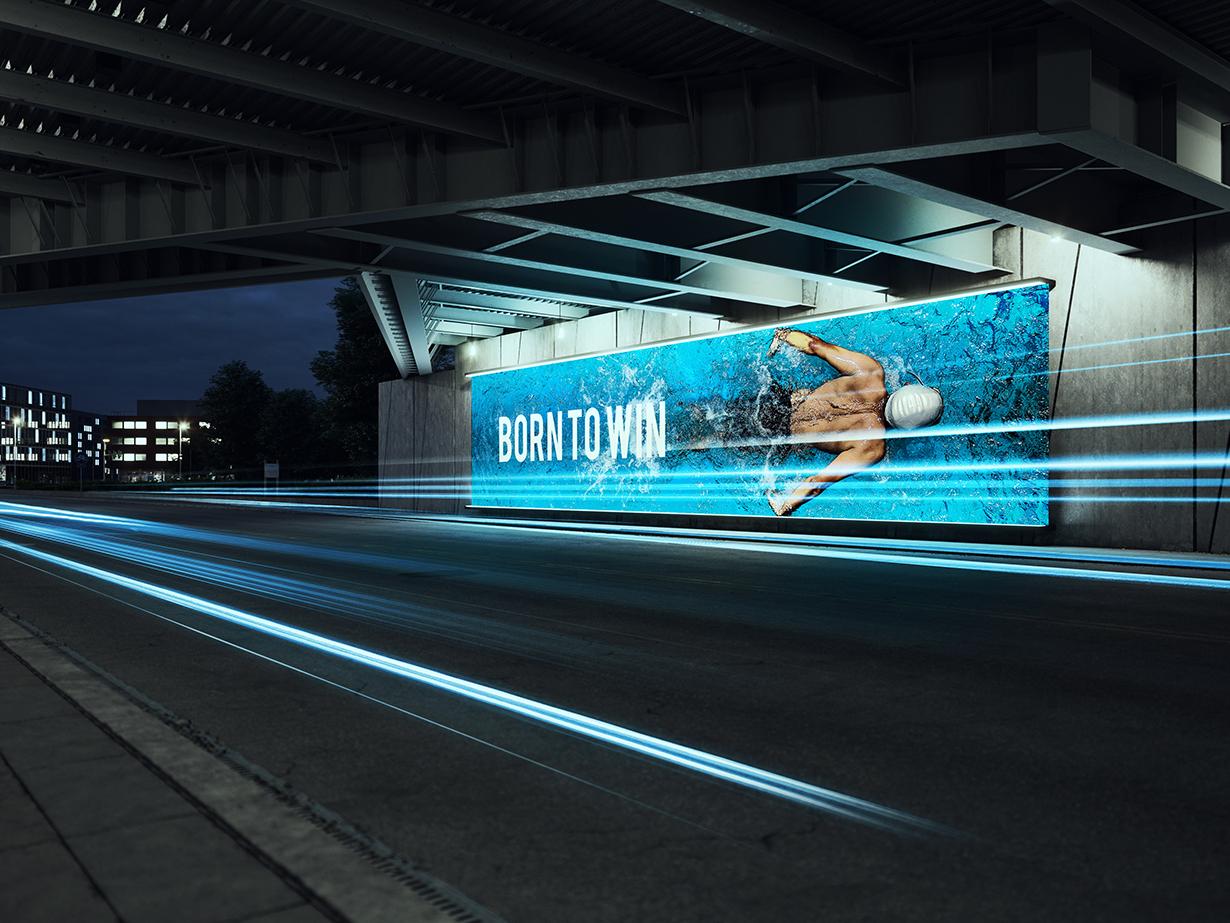 a8205f68c8c Under the Bridge - Billboard Mock-up - GK Mockups Store