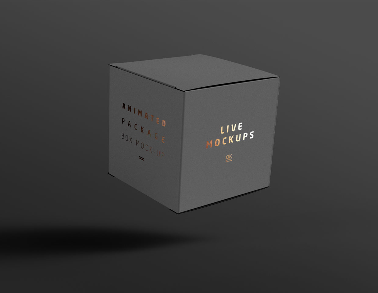 Animated Box Mock-up