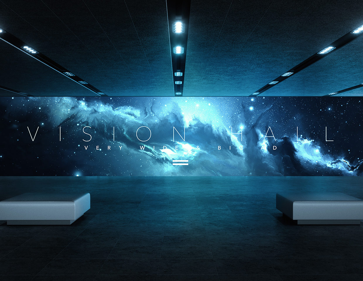Vision Hall Mock-up